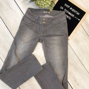 CAbi Woman's Jeans Gray Size 2